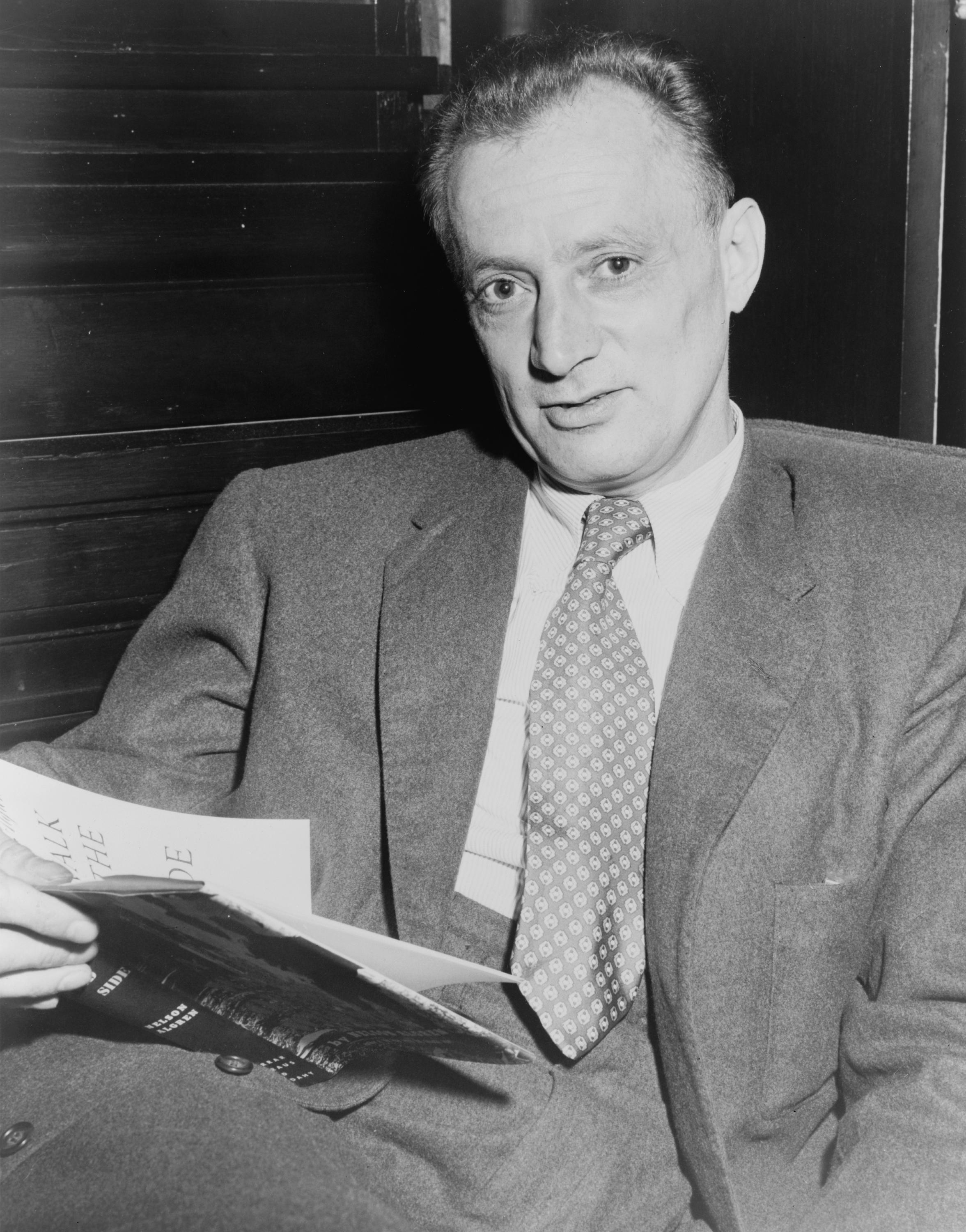 Photo of Nelson Algren