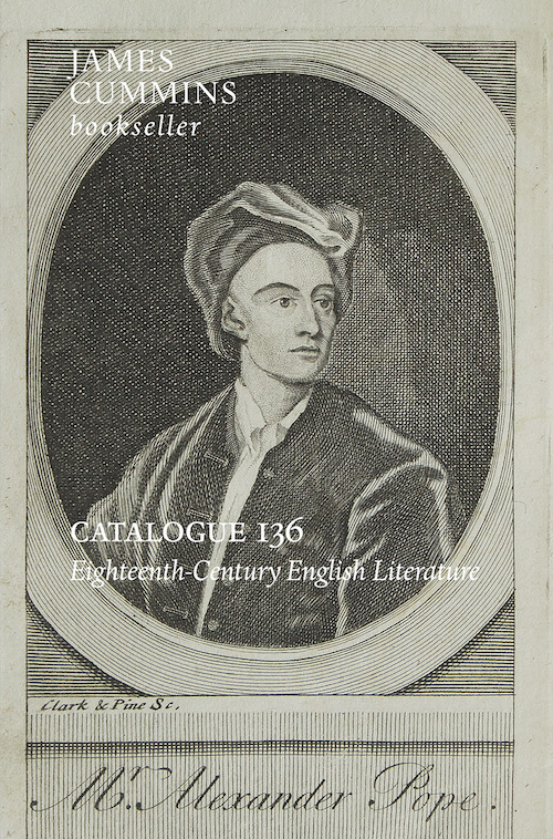 Catalogue 136 - 18th Century English Literature