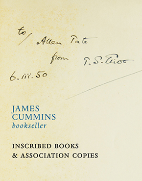 Inscribed & Association Copies