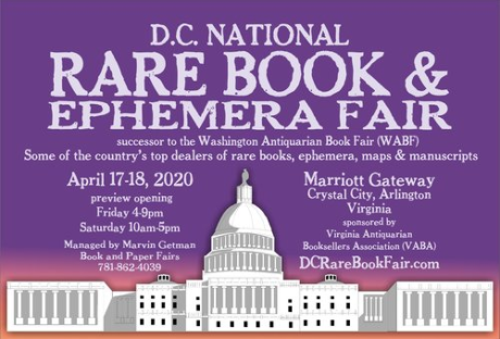 Washington DC Book & Ephemera Fair