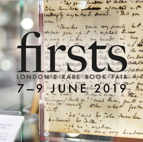 London Book Fair - Firsts