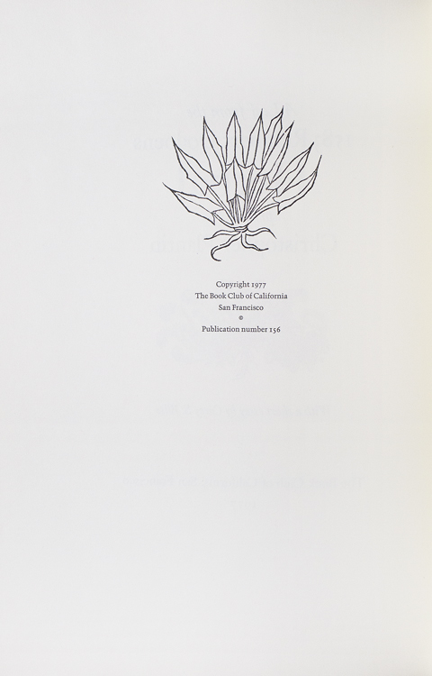 A Leaf from the 1583 Rembert Dodoens Herbal Printed by