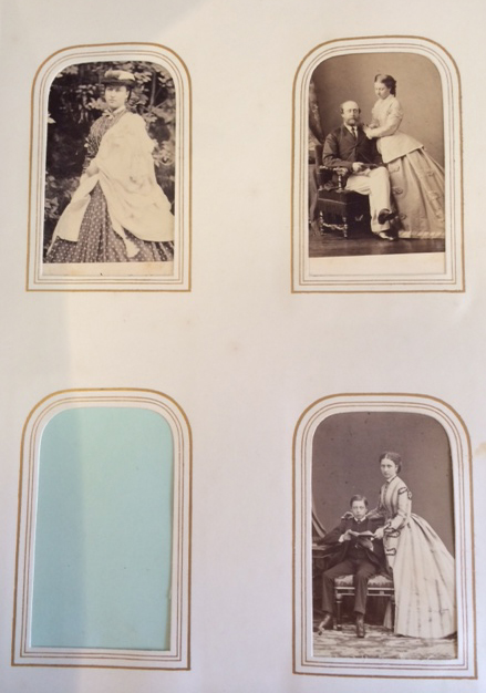 Carte De Visite Photographic Album With Portraits Of Queen Victoria And Her Children Prime Ministers And Mps And Other Notable Figures By English
