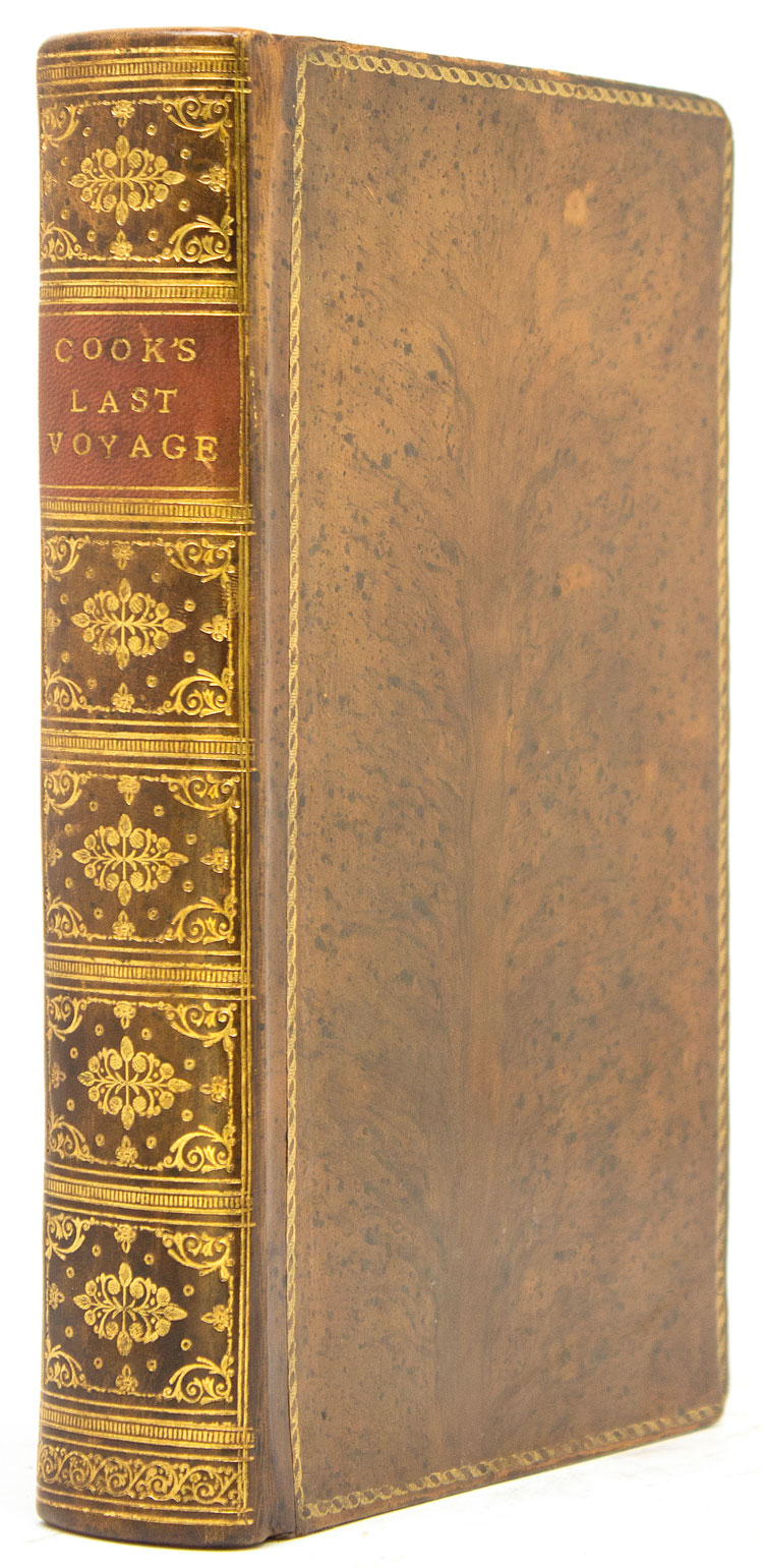 Journal of Captain Cooks last voyage to the Pacific Ocean.