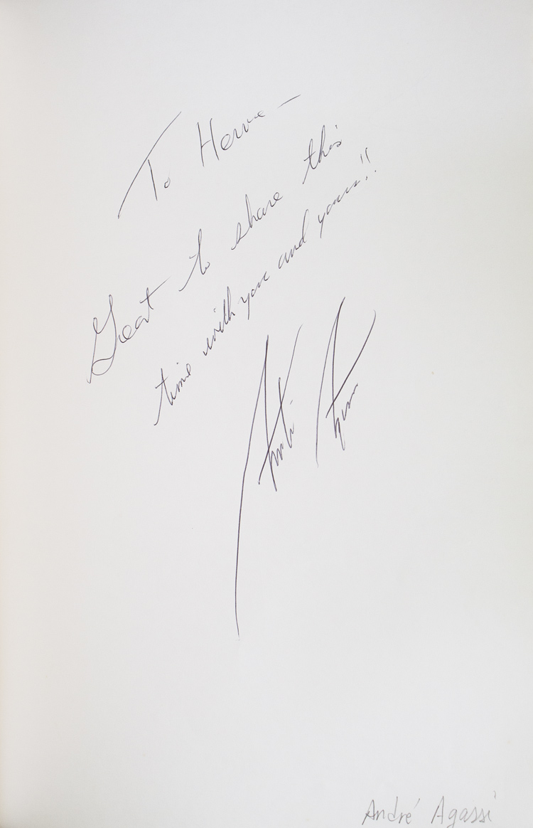 Autograph album of the manager of the Cipriani Restaurant