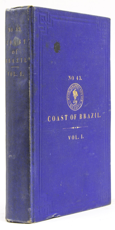 The Coast of Brazil. From Cape Orange to Rio Janeiro. Volume I. Compiled at The United States Hydrographic Office. Lieutenant-Commander H. H. Gorringe.