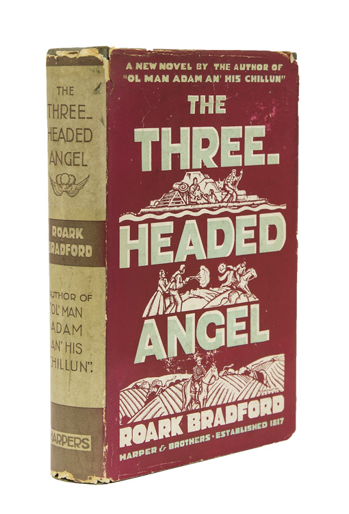 The Three Headed Angel. Roark Bradford.