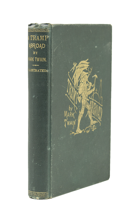 A Tramp Abroad. By Mark Twain. Samuel L. Clemens.
