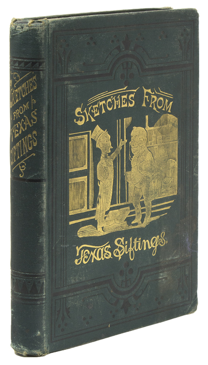 """Sketches from """"Texas Siftings"""". Alexander E. Sweet, John Armoy Knot."""