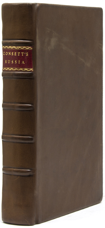 The Present State and Regulations of the Church of Russia. Establish'd by the Late Tsar's Edict. Also in the Second Volume a Collection of several Tracts relating to his Fleets, Expeditions to Derbent, &c. Thomas Consett.