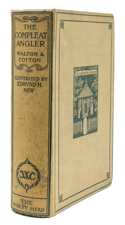 The Compleat Angler. Edited with an Introduction by Richard Le Gallienne. Izaac Walton.