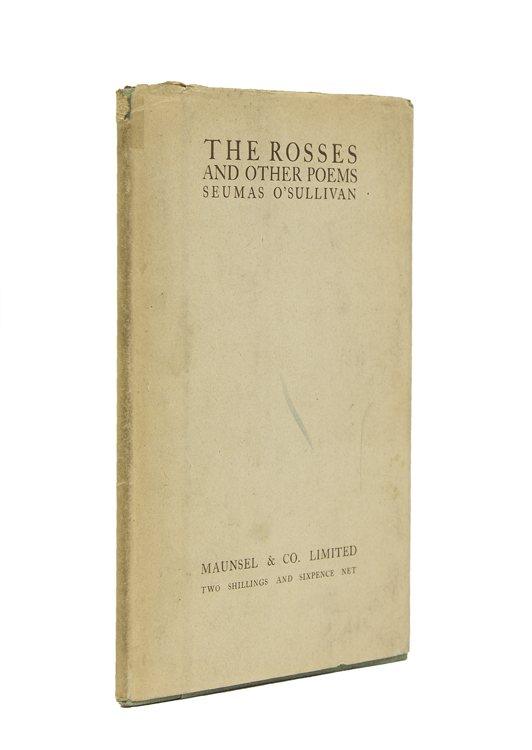 The Rosses And Other Poems. Seamus O'Sullivan.