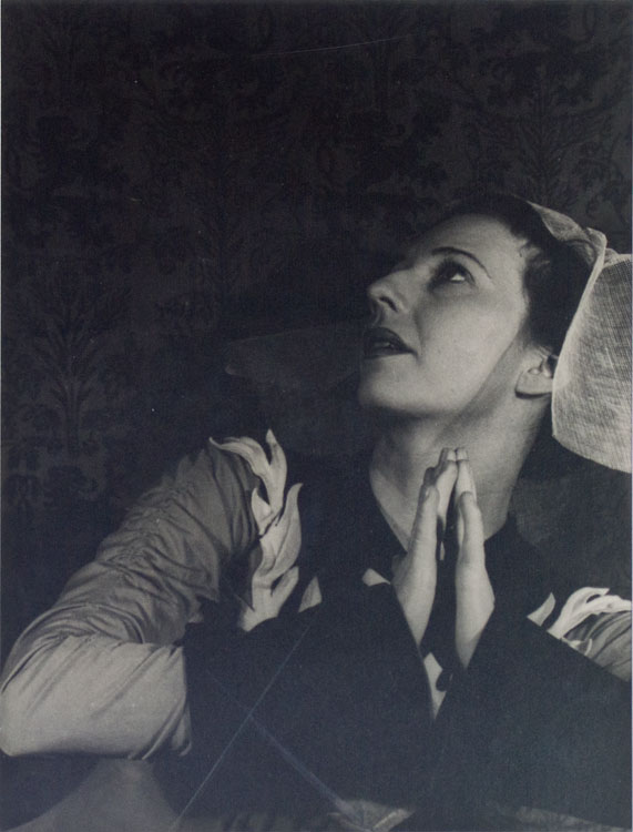 "Portrait photograph of Agnes de Mille in ""Three Virgins and a Devil"" Agnes De Mille, Carl Van Vechten."