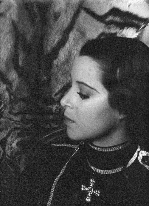 "Portrait photograph of Kitty Carlisle as the Prince in ""Fledermaus"" Kitty Carlisle, Carl Van Vechten."