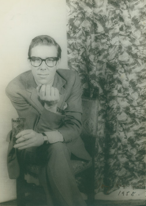Portrait photograph of Antony Armstrong-Jones, Lord Snowdon. Antony Armstrong-Jones, Carl Van Vechten.