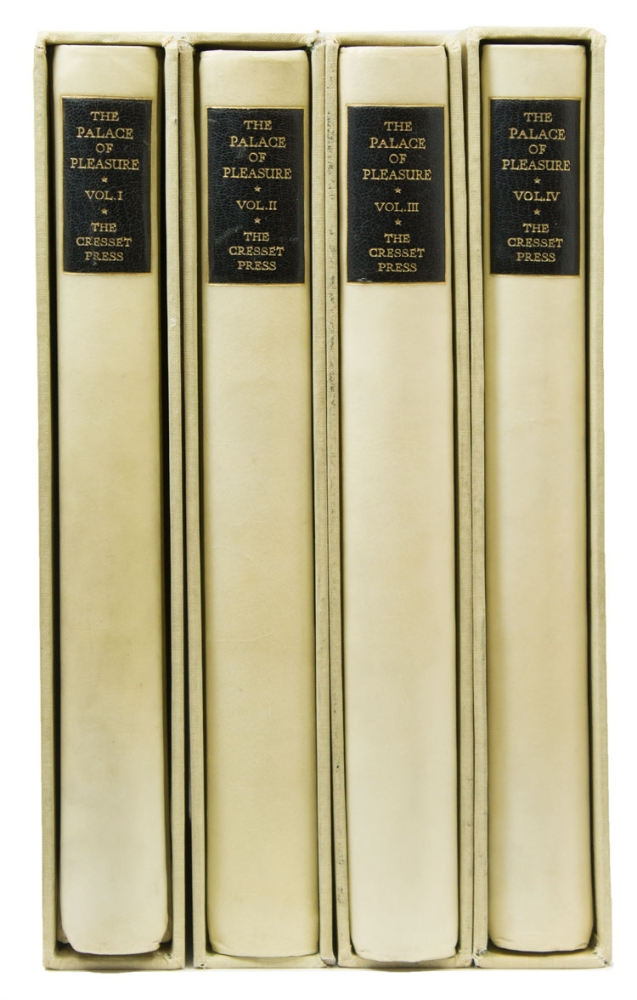The Palace of Pleasure With an Introduction by Hamish Miles. CRESSET PRESS, William Painter.