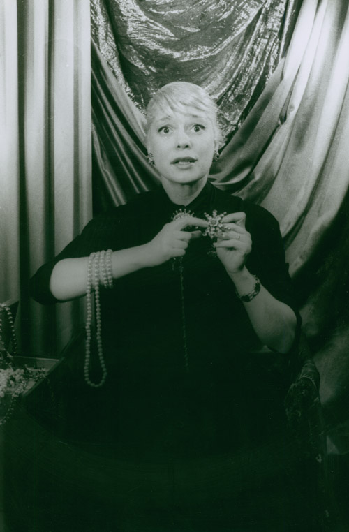 Portrait photograph of Carol Channing in GENTLEMEN PREFER BLONDES. Carol Channing, Carl Van Vechten.