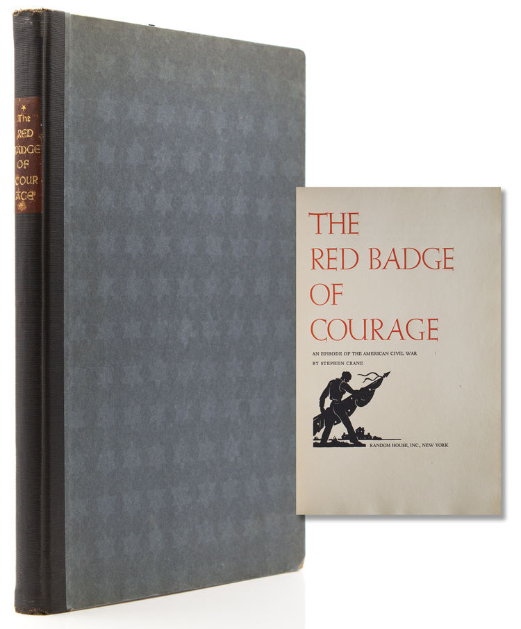 The Red Badge of Courage. Grabhorn Press, Stephen Crane.