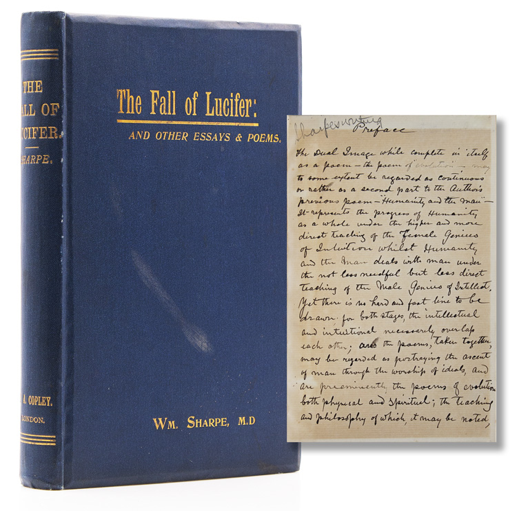 The Fall of Lucifer, and Other Essays and Poems. Wm Sharpe, M. D.