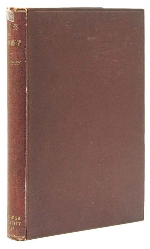 Studies from the Anthropological Laboratory The Anatomy School Cambridge. W. L. H. Duckworth.