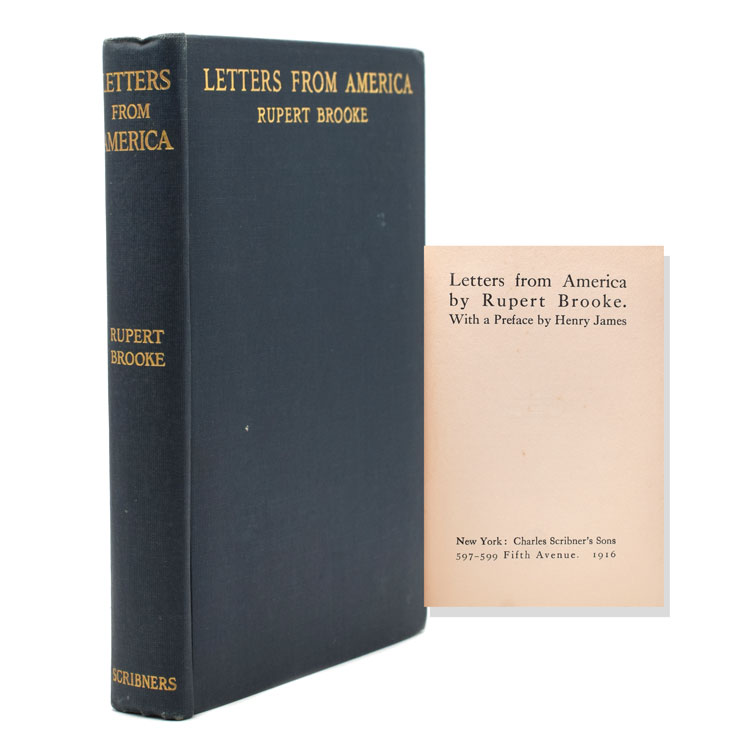 Letters from America. Rupert Brooke.