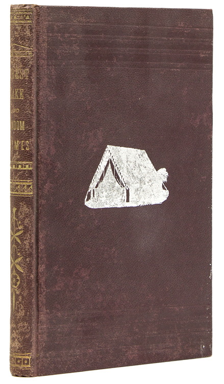Letters from the Woods. [Editorial Correspondence.] Random Rhymes, from 20 to 70. Annual Addresses, Written for Press Carriers. Spine title: Forest, Lake and Random Rhymes]. Adirondacks, Edward B. Osborne.