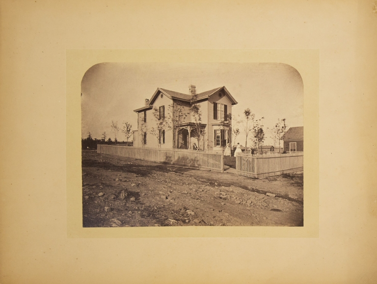 """Photograph of """"Hill-side"""" house"""