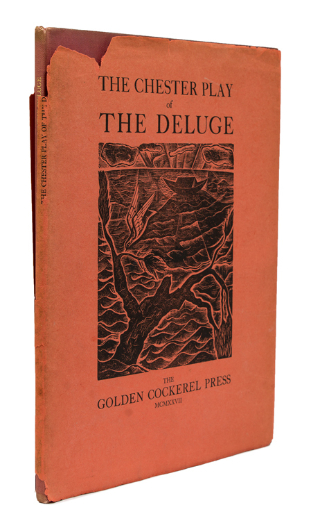 The Chester Play of the Deluge. Golden Cockerel Press, J. Isaacs.