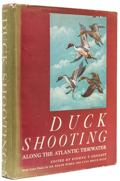 Duck Shooting Along the Atlantic Tidewater. Chapters by Frederick C. Lincoln, Lynn Bogue Hunt, Frederick C. Havemeyer, 2nd, Frederick K. Barbour, et al. Eugene V. Connett.