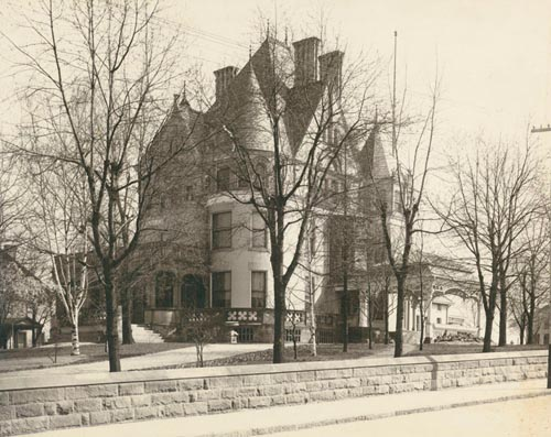 "Photograph of ""CLAYTON"", the Frick family mansion in Pittsburgh. Henry Clay Frick."