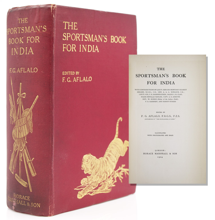 The Sportsman's Book for India. F. G. Aflalo.