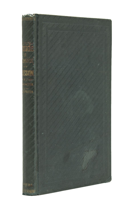 Inside: A Chronicle of Secession. By George F. Harrington. William Mumford Baker.