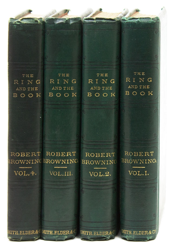 The Ring and the Book. Robert Browning.