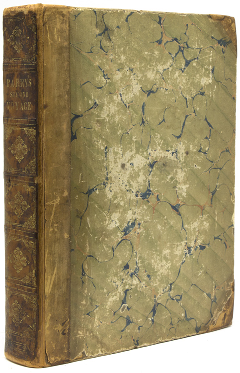 Journal of a second voyage for the discovery of a north-west passage from the Atlantic to the Pacific; performed in the years 1821-22-23. William Edward Parry.