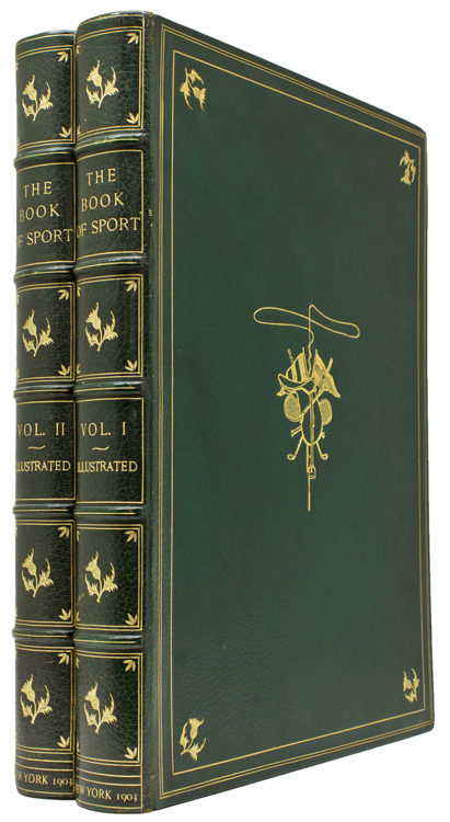 The Book of Sport. Golf, William Patten.
