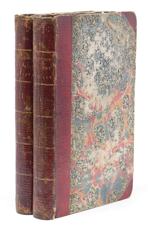 Lyrical Ballads, With Pastoral and Other Poems … Vol I. Third Edition … [… Vol II. Second Edition]. illiam, Samuel Taylor Coleridge.