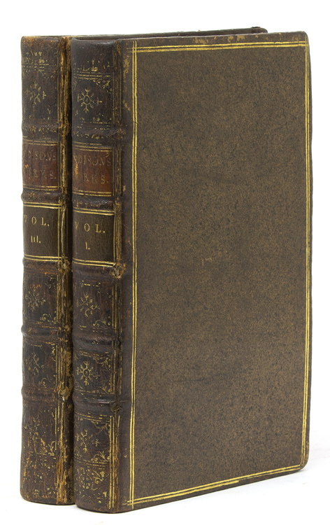 Miscellaneous Works, in Verse and Prose, of the Late Right Honourable Joseph Addison, Ezq: With some Account of the Life and Writings of the Author, By. Mr. Tickell. Joseph Addison.
