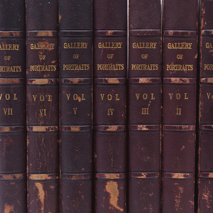 The Gallery of Portraits; with Memoirs. English Portraits.