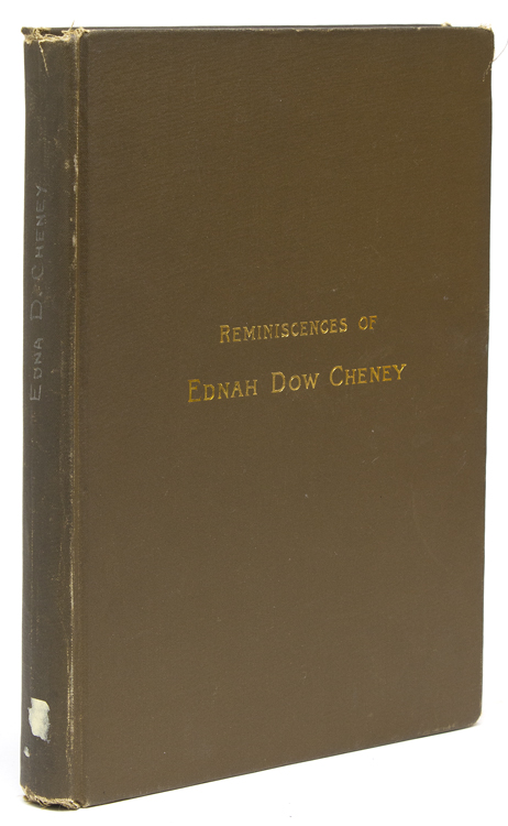 Reminiscences of Ednah Dow Cheney (born Littlehale). Ednah Dow Cheney.