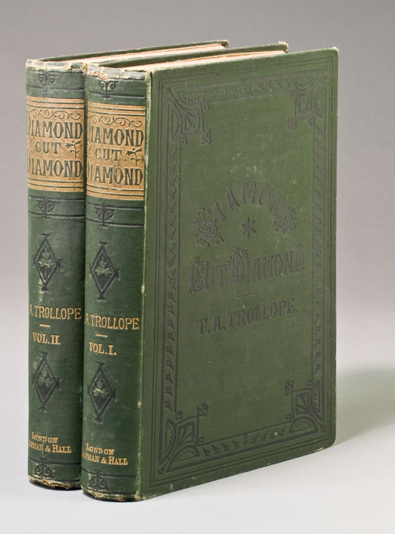 Diamond Cut Diamond. A Story of Tuscan Life and Other Stories. Adolphus Trollope, homas.