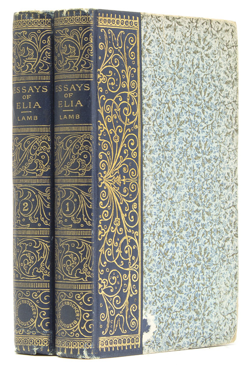 Essays of Elia. Charles Lamb.