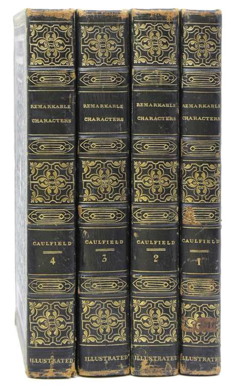 Portraits, Memoirs, and Characters, of Remarkable Persons from the Revolution in 1688 to the End of the Reign of George II. James Caulfield.