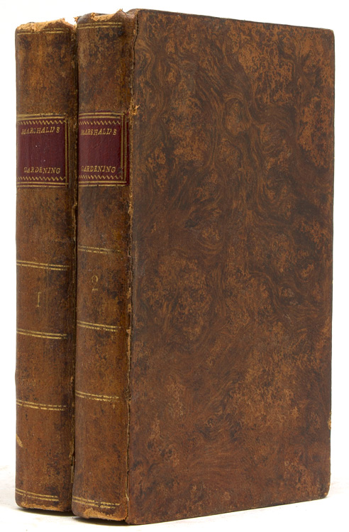 An Introduction to the Knowledge and Practice of Gardening by Charles Marshall, Vicar of Brixworth, Northamptonshire. [Three lines from Bacon] To which is added, An essay on quick-lime, as a cement and as a manure, by James Anderson, LL.D. F.R.S. F.A.S.S. Charles Marshall.