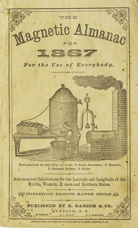 The Magnetic Almanac for 1867