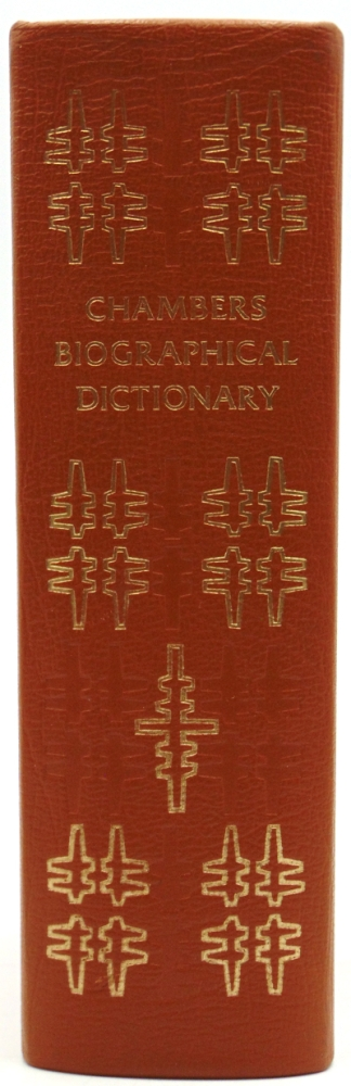 Chambers Biographical Dictionary. Revised Edition. J. O. MA Thorne, T C. MA.