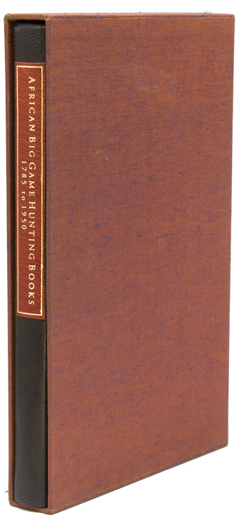 An Annotated Bibliography of African Big Game Hunting Books, 1785-1950. Dr. Kenneth Czech.