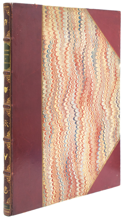 Twenty Sporting Designs, With Selections from the Poets. George A. Fothergill.