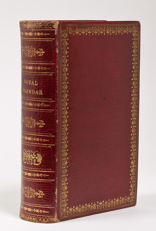 The Royal Kalender and Court and City Register for England, Scotland and the Colonies...for the Year 1889. FORE-EDGE.