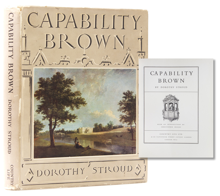 Capability Brown. With an Introduction by Christopher Hussey. Capability Brown, Dorothy Stroud.