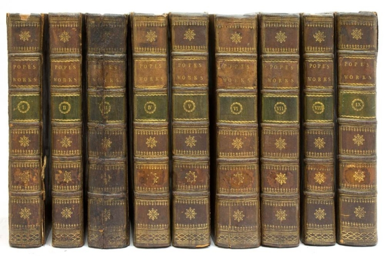 The Works of...In nine volumes, complete. With his last corrections, additions, and improvements: together with the commentary and notes of his editor. Alexander Pope.